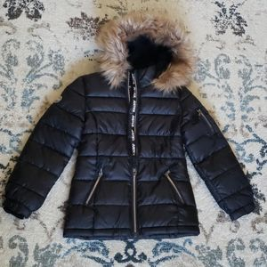 Justic packable puffer jacket